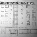 BESETZUNG DER HOHENZOLLERNSTRASSE59